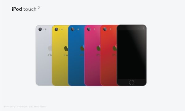 iPhone 6, 6S visions and new iPod touch b
