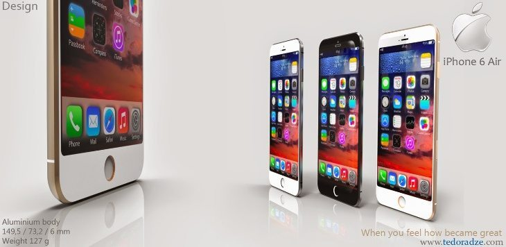 iPhone 6 Air design for 2015 is tempting