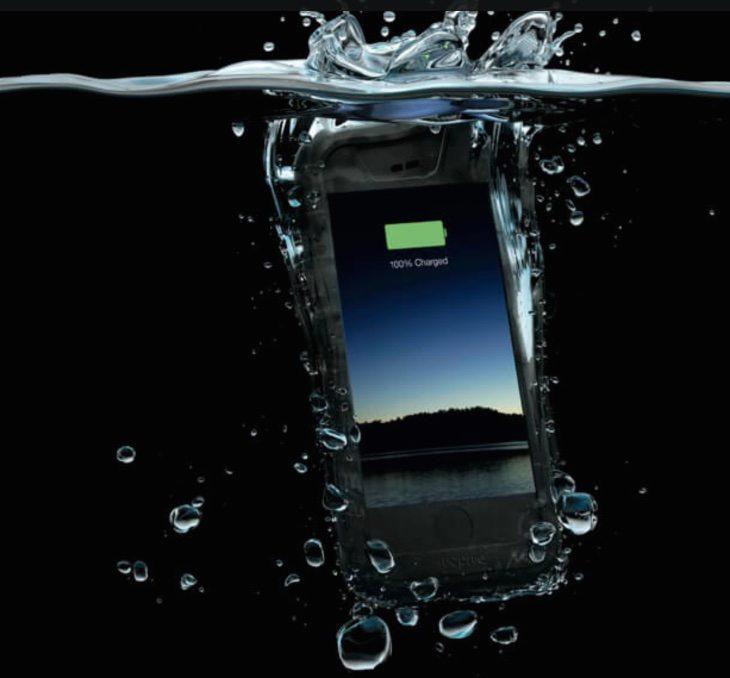 iPhone 6 Mophie waterproof case