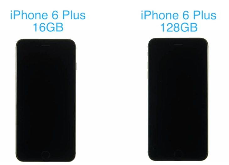 iphone 6 plus 128gb vs 16gb boot test shocker. Black Bedroom Furniture Sets. Home Design Ideas
