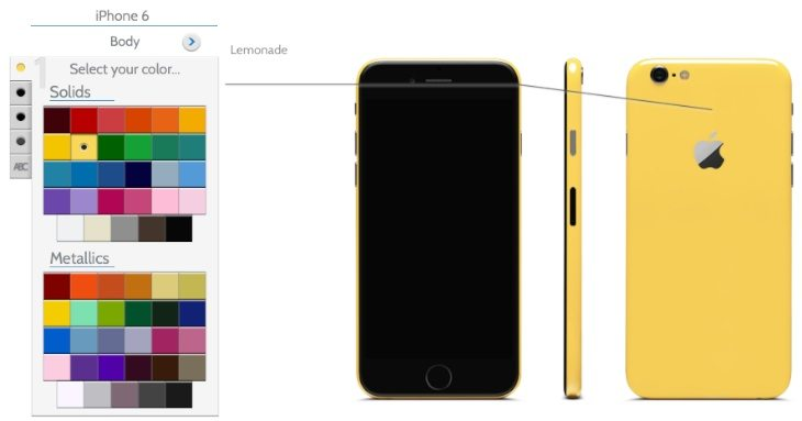 iPhone 6 Plus in more colors with ColorWare - PhonesReviews