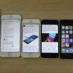 iPhone 6 Plus vs 6, 5S, 5C, 5 and 4S