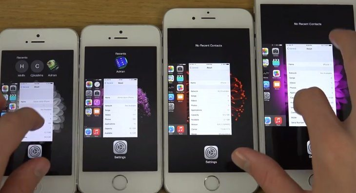 iPhone 6 Plus vs 6, 5s, 5