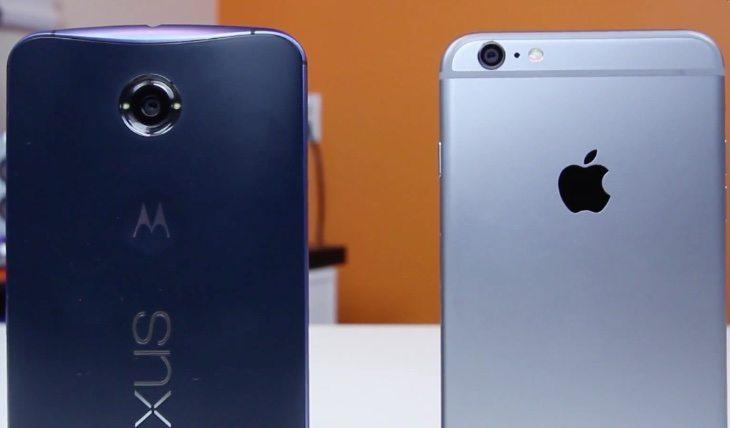 iPhone 6 Plus vs Nexus 6 b