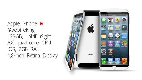 iPhone 6 Retina 4.8-inch possibility with X dream
