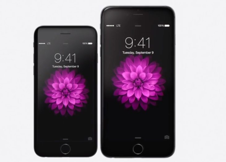 New iPhone 6 with Plus in TV ads