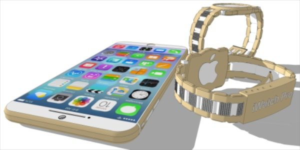 iPhone 6 and iWatch Pro designs to inspire
