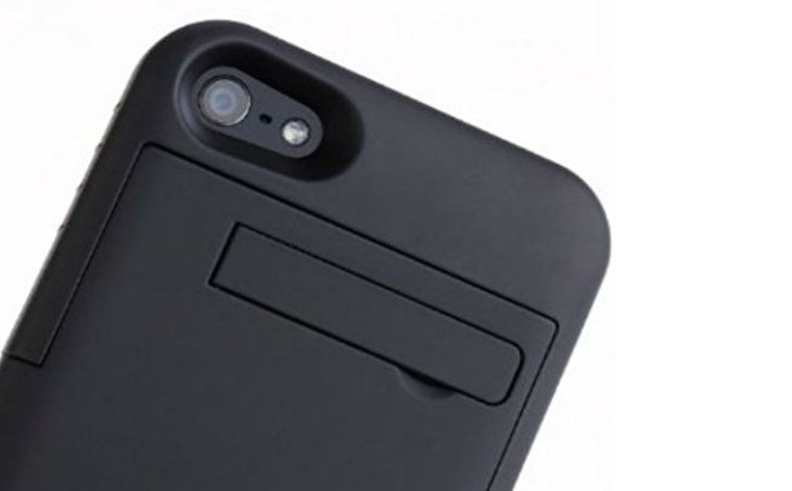 iPhone 6 battery case with kickstand b