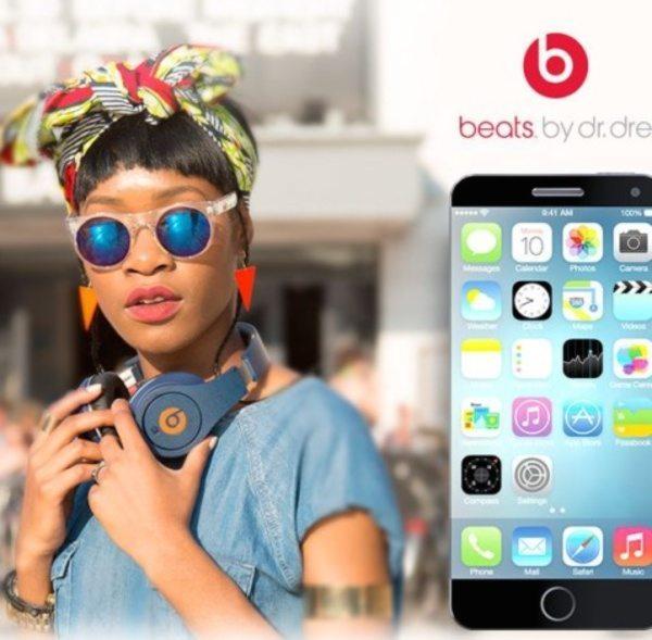 iPhone 6 design bears Beats logo c