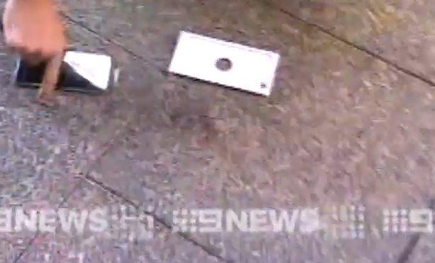 iPhone 6 drop incident c