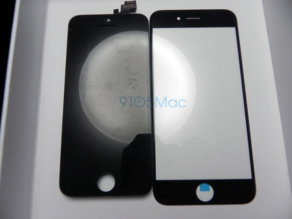 iPhone 6 glass compared