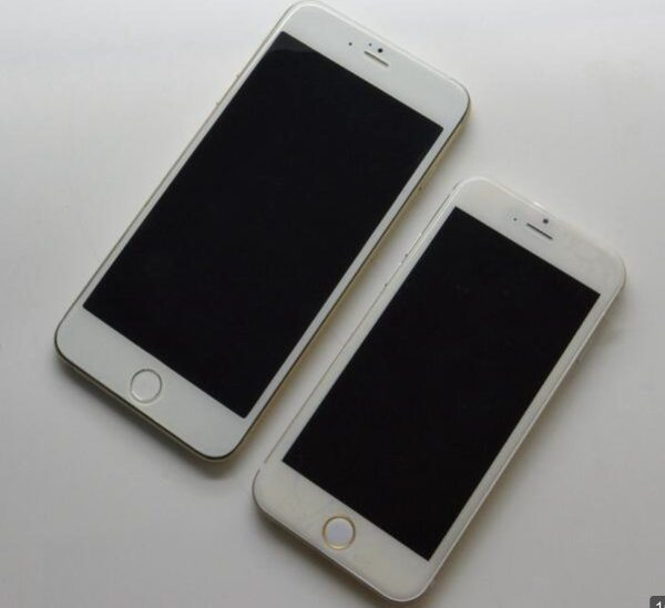 iPhone 6 images compare model sizes, cause a scrap b