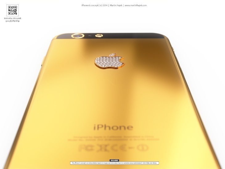 iPhone 6 in real gold b