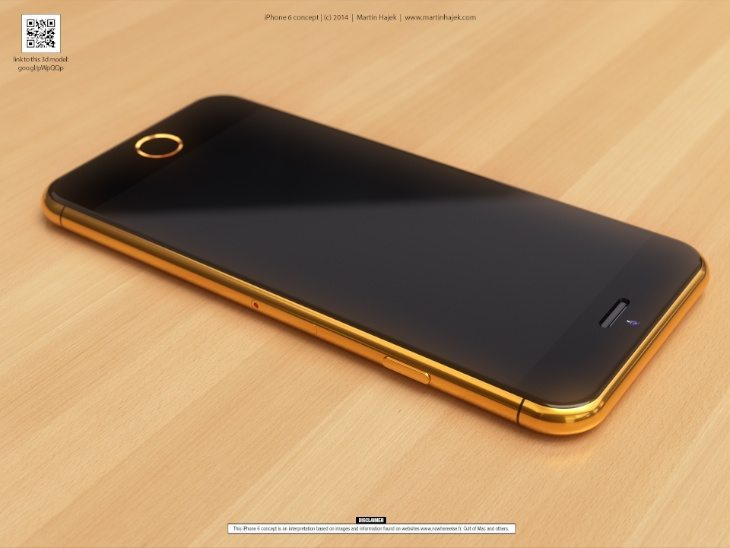 iPhone 6 in real gold c