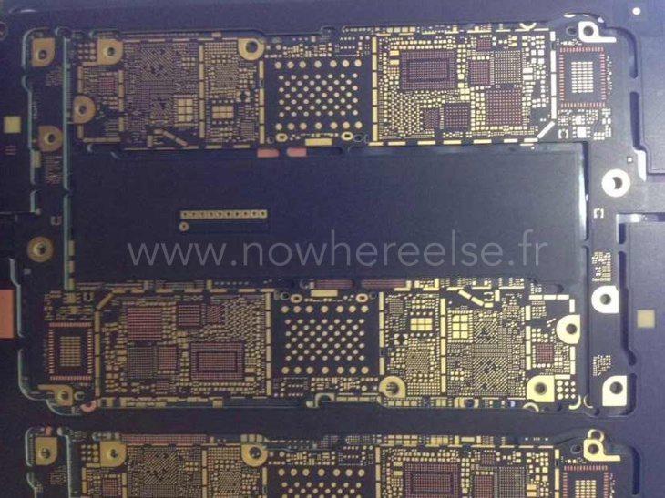 iPhone 6 purported logic board