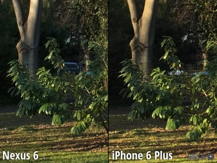 iPhone 6 Plus soundly beaten by Nexus 6 in blind camera test
