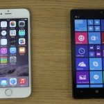 iPhone 6 vs Nokia Lumia 930 b
