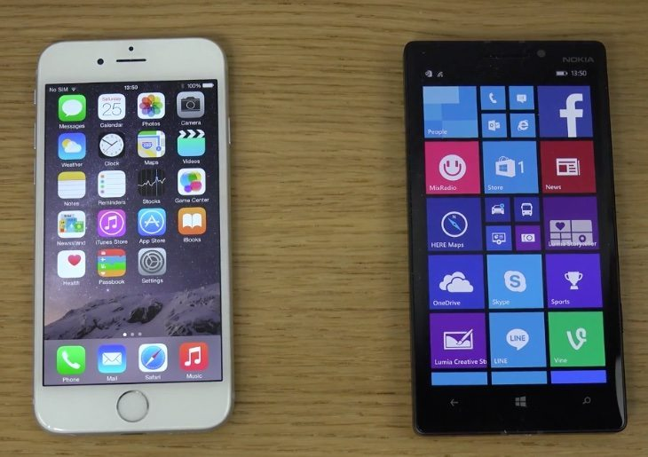 iPhone 6 vs Nokia Lumia 930, plenty on offer