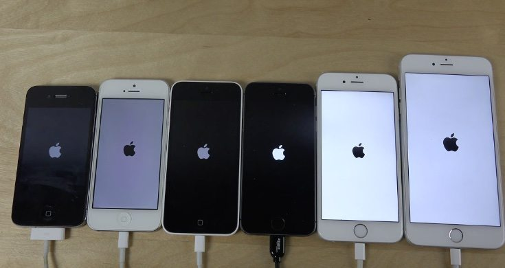 iPhone 6 vs Plus, 5S, 5C, 5, 4S