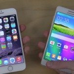 iPhone 6 vs Samsung Galaxy A5 boot up