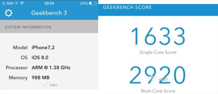 iPhone 6 vs. 5S camera and benchmarks