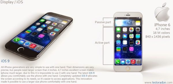 iPhone 6 with iOS 9 and slim style b
