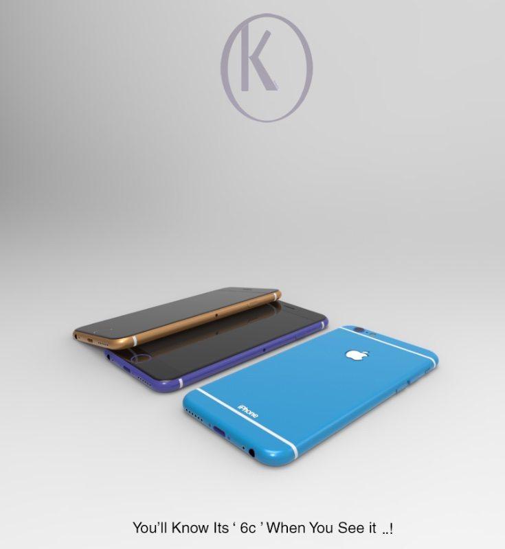 iPhone 6C design