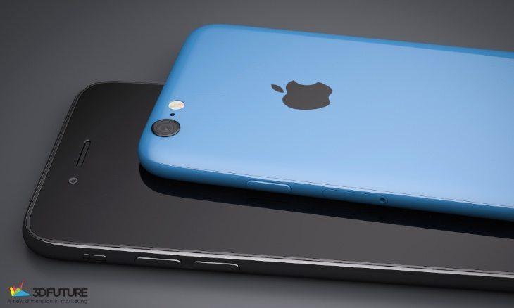 iPhone 6C renders b