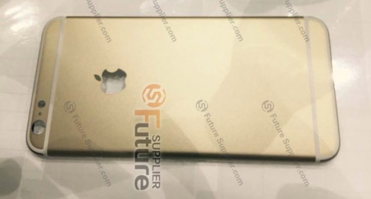 iPhone 6S Plus live images of casing claimed