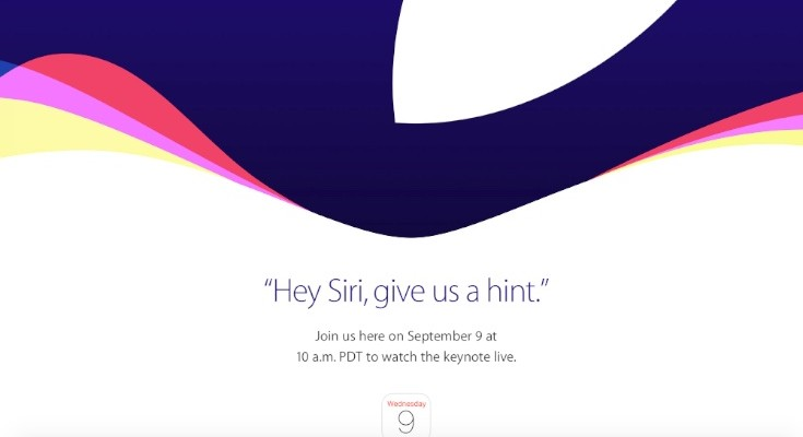 iPhone 6S announcement time worldwide and Iive stream