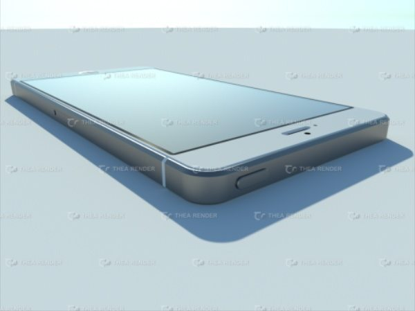 iPhone 6S design with believable styling