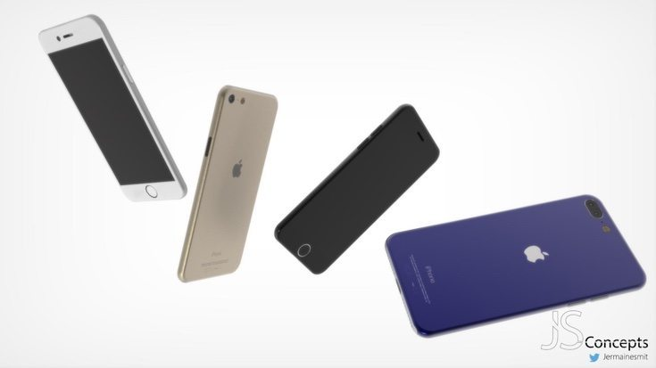 iPhone 7 and 7 Plus concept d