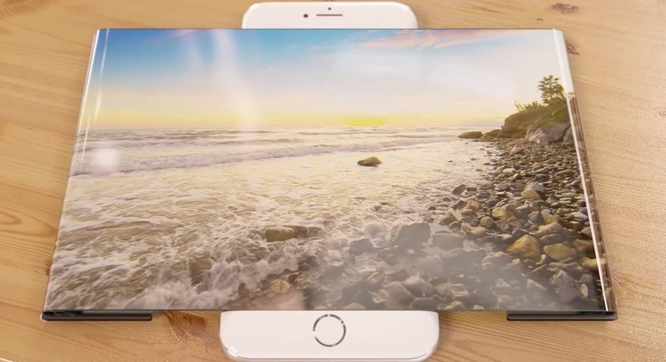 iPhone 7 concept with widescreen display shows wild imagination