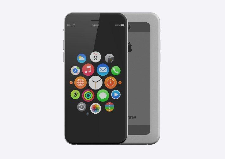 iPhone 7 design with iOS 10 c