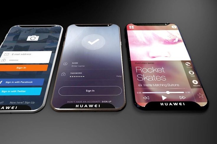 iPhone 8 vs Huawei P X