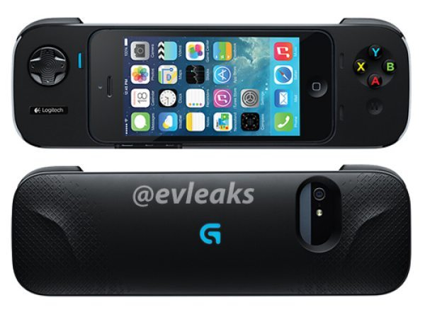 iPhone iOS 7 certified Logitech gamepad