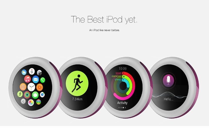 New iPod Pro vision features Apple Watch UI