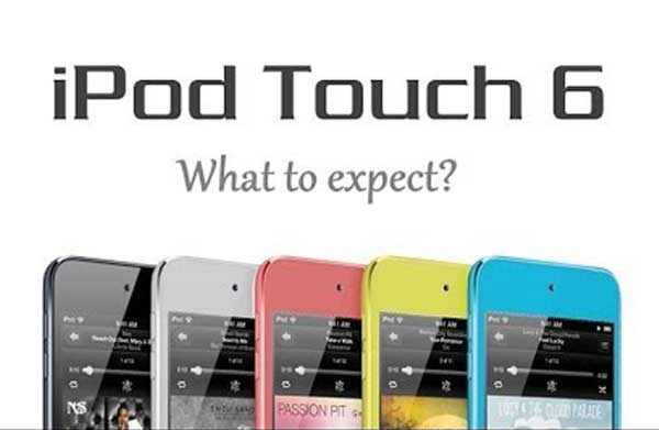 iPod touch 6G with 2014 iPad, not iPhone 6