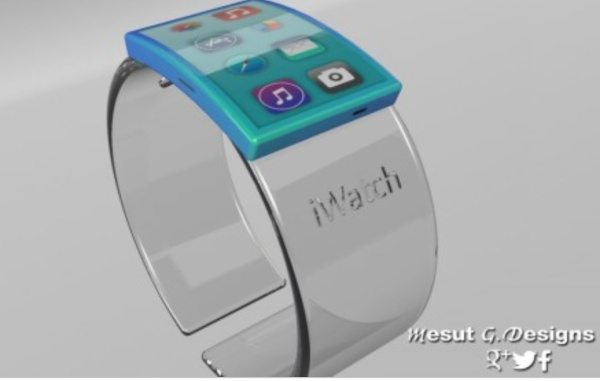 iWatch Glass design has hologram appeal