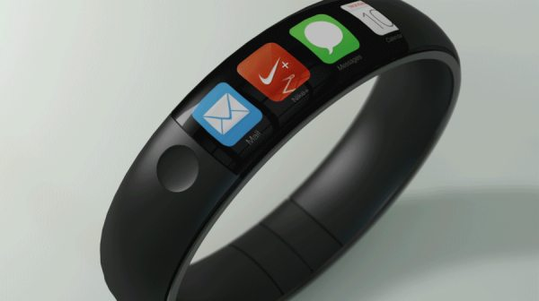 iWatch concept mixes Nike Fuel Band, iPhone pic 1