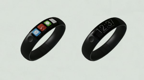 iWatch concept mixes Nike Fuel Band, iPhone