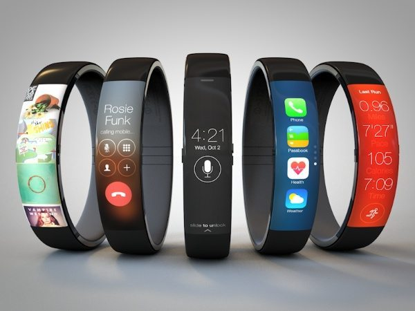 iWatch concept with curvaceous design b
