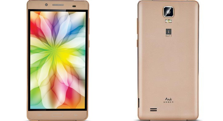 iBall Andi 5.5H Weber 4G specifications revealed ahead of launch