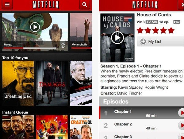 iOS 7 Netflix update adds new features