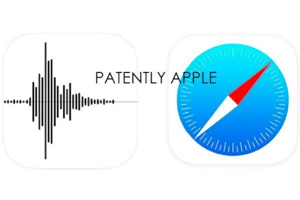 New iOS 7 Voice Memo, Safari trademark applications