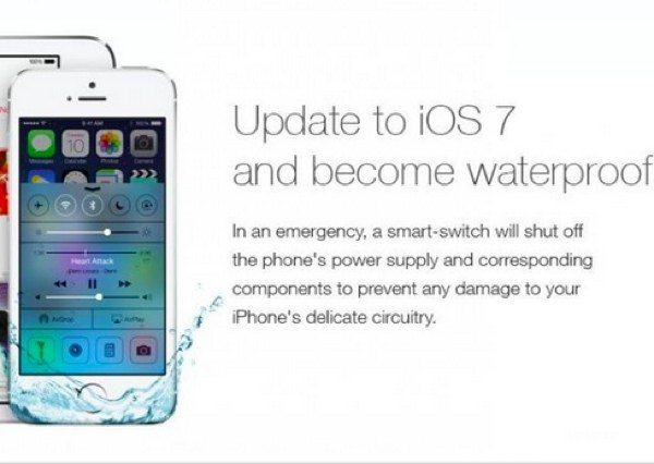 iOS 7 waterproof hoax explained in videos
