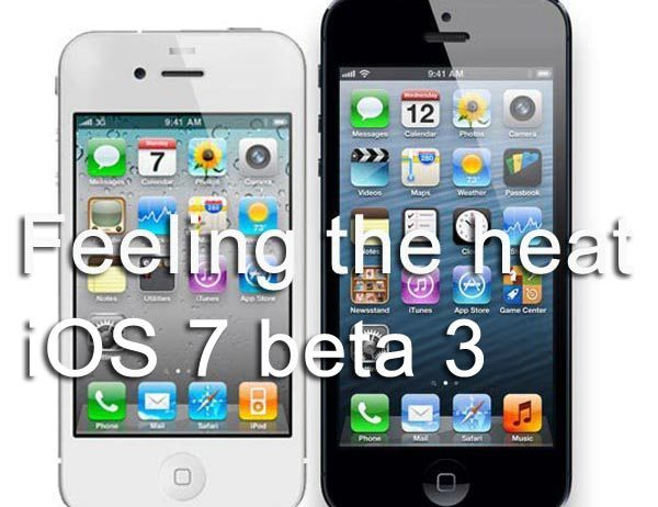 iPhone 4S issues on iOS 7 beta 3, hot and battery drain