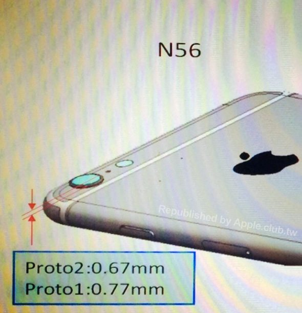 iPhone 6 to have slightly protruding camera lens?