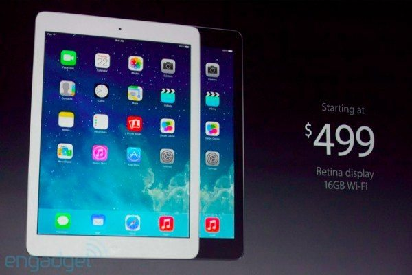 New iPad 5 turns out to be iPad Air, specs and more
