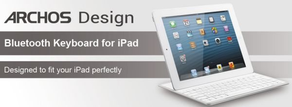iPad Archos Design Bluetooth keyboard with kickstand